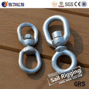 Galvanized Carbon Steel Drop Forged Link Chain Swivel pictures & photos