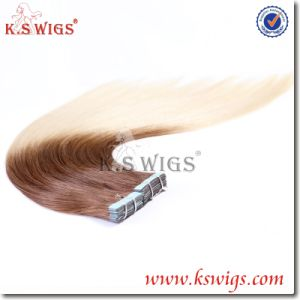 Brazilian Tape in Hair Virgin Remy Hair Extension pictures & photos