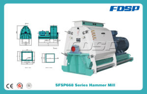 CE Approved Feed Hammer Mill/Hammer Crusher/ Wood Hammer Grinder pictures & photos