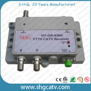 FTTH CATV Optical Receiver (OR-826H) pictures & photos