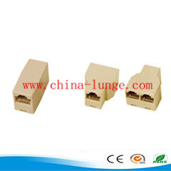 RJ45 Cat5/CAT6 Adapter Modular Plug Network Connector pictures & photos