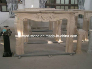 Marble Fireplace&Mantel for Living Room
