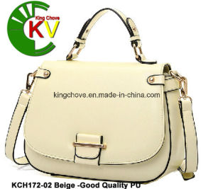 Fashion and High Class PU Ladies Handbag (KCH172-2) pictures & photos