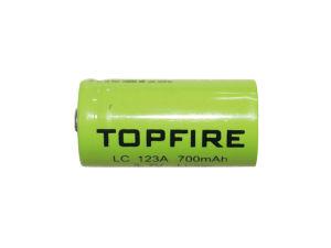 3.7V 700mAh Topfire LC123A Li-ion Rechargeable Battery (WS40038)