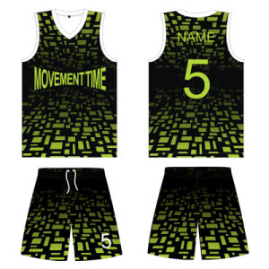 Full Sublimation Basketball Jersey Uniform T Shirt for Team pictures & photos