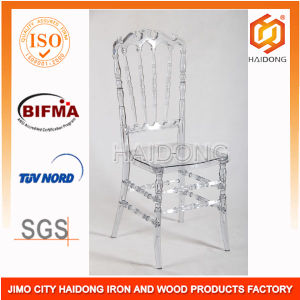 Clear Transparent Acrylic Resin Royal Chair in Wedding pictures & photos