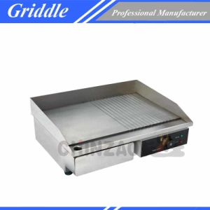 Commercial Counter Top Stainless Steel Kitchen Equipment Electric Griddle pictures & photos