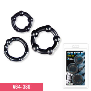 3 Differenct Size Cock Ring for Men Sex Toy (A64-380) pictures & photos