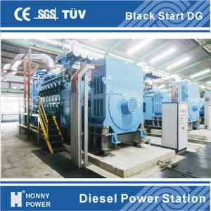 Honny Black Start Generator Power Plant 1000rpm pictures & photos