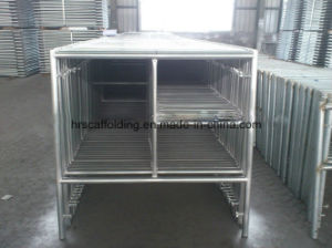 Walk Through Frame Scaffolding Powder Coated Low Price pictures & photos