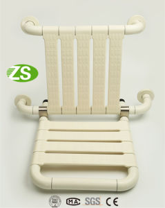 Bathroom Accessories Nylon and Stainless Steel Showering Seat for Elderly/Handicapped pictures & photos