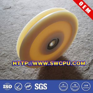 Good Wear-Resistance Injection PA66 Plastic Pulley/Wheel for Auto pictures & photos