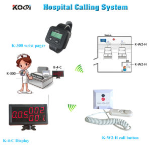 Hospital Service Bell System for Patient and Nurse Use Wireless Equipment pictures & photos