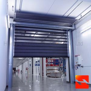 Insulated Steel Metal High Speed Roller Shutter Door (HF-2028) pictures & photos