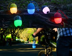 Firefly Bluetooth Speaker with Colorful Lamp pictures & photos