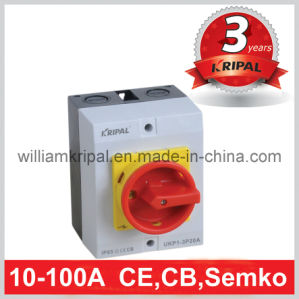 20A IP65 Waterproof Rotary Isolator Switch pictures & photos
