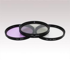 Filter Kit 62mm UV CPL Fld Filter for Any Digital SLR Camera