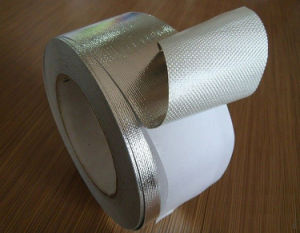 Fiberglass Cloth Aluminum Foil Adhesive Tape pictures & photos