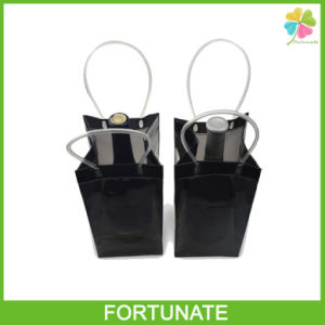 Foldable Plastic PVC Wine Ice Bucket pictures & photos
