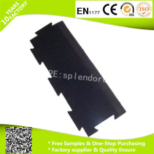 Rubber Edge and Ramps for Indoor Fitness Interlock Rubber Gym Flooring pictures & photos