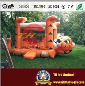Cheap Inflatable Tiger Bouncer on Sale pictures & photos