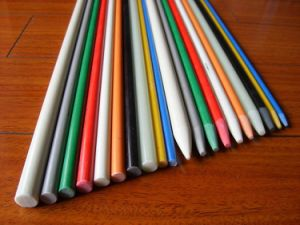 Sharpened End UV Protection Long Life Durable Fiberglass Stake pictures & photos