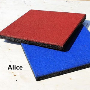 Playground Rubber Tiles/Recycle Rubber Tile/Colorful Rubber Paver pictures & photos