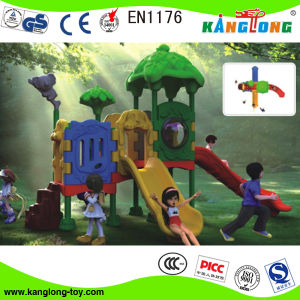 2014 New Plastic Playground Equipment for Kids (2013 Kl 032A) pictures & photos