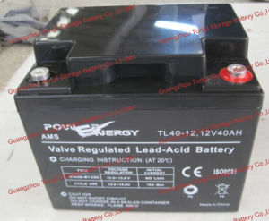 Tl40 12V40ah VRLA Sealed Lead Acid Maintenance Free UPS Battery pictures & photos
