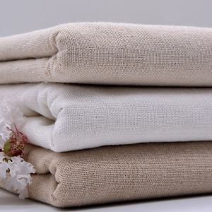 65% Linen 35% Cotton Dyed Woven Textile Garment Shirt Fabric