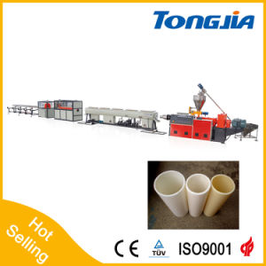 Hot Sale Automatic PVC Water Pipe and Thread Wire Pipe Extrusion Line pictures & photos