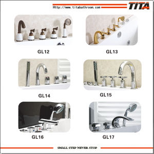 2014 Brass Material Bathtub Faucet Gl12 pictures & photos