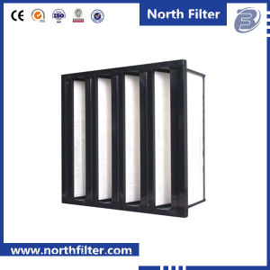 """Box Type Combined Mini Pleat HEPA Air Filter Size 24*24*12"""" pictures & photos"""