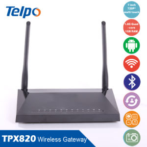 Factory Manufacturing 4G GSM Wireless VoIP Gateway with SIM Card