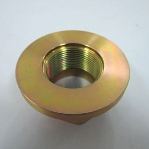 Machining Part Forging Part Hexgon Nut Stake Nut Flanged F1014z pictures & photos