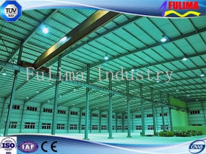 Long Span Fabricated Light Structural Steel Workshop for Sale (FLM-041) pictures & photos