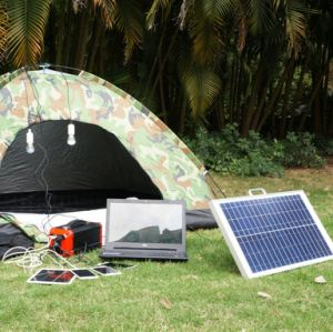 Home Solar Energy Generator off-Grid Solar Power Kit 270wh pictures & photos
