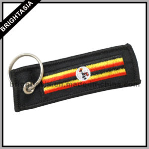 Beautiful Professional Embroideried Key Chain Country Flags (BYH-10886) pictures & photos