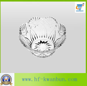 High-Quality Pressed Glass Bowl Fruit Candy Bowl Tableware Kb-Hn0176 pictures & photos