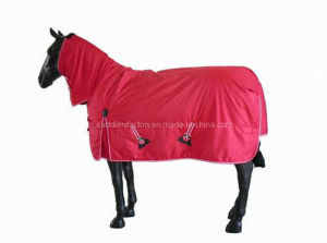 Horse Products Waterproof Breathable Combo Red Horse Rugs (SMR1537) pictures & photos