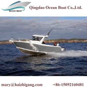 2017 New Design 5083 Marine Grade Aluminum Center Cabin Sport Boat pictures & photos