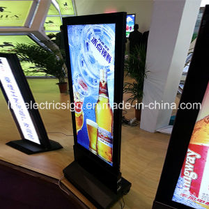 Free Standing Double Side LED Signboard for Hotel Advertising pictures & photos