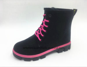 2017 Warm Women Winter Boots with Lace up (ET-CH160271W) pictures & photos