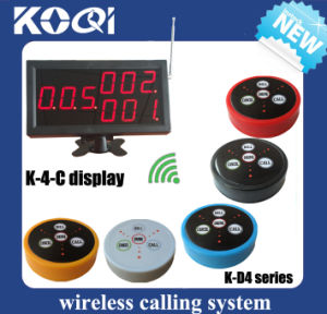 K-4-C Restaurant Wireless Service Calling System pictures & photos