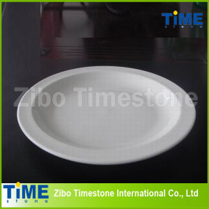 Fine White Porcelain Pizza Plate (TM060503) pictures & photos