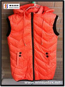 Fashion Downpoof Fabric (HKTJ004-4DRPLC)