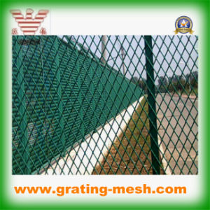 PVC Coated/ MID Steel/ Expanded Metal Mesh (ISO)