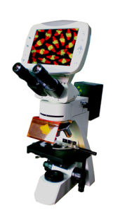 Med-L-DMS-855 Compound Digital LCD Fluorescence Microscope pictures & photos