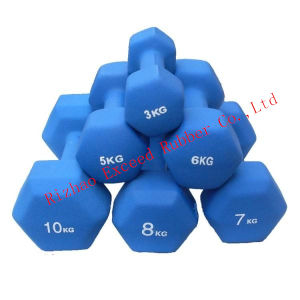 Fitness Equipment Gym Equipment Exercise Vinyl Color Dumbbell