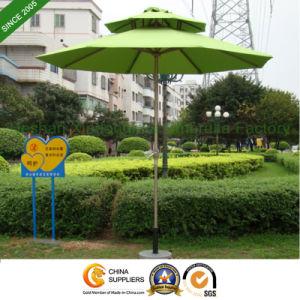 2.5m Garden Patio Double Layer Aluminium Market Umbrella (PU-0025ADC)